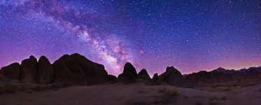 California - Alabama Hills and the Milky Way at Mount Whitney Portal - 190