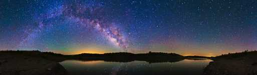 Arizona - Alamo Reservoir and the Milky Way on a Calm Windless Night - 360