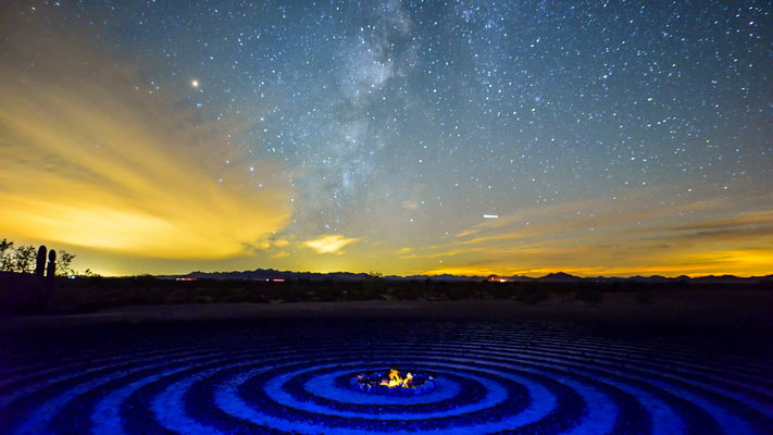 Arizona - Spiral Labyrinth at Kofa