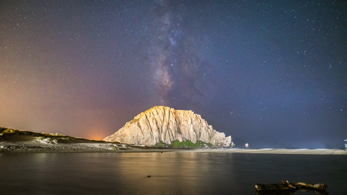 California - Morro Bay at Night