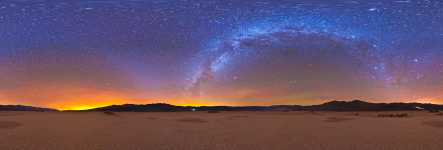 California - Panamint Valley Nightscape - 360