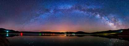 Colorado - Blue Mesa Reservoir and the Milky Way 180