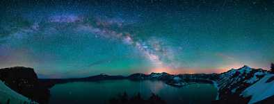 Oregon - Crater Lake - Milky Way Reflections 220