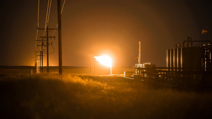 North Dakota - Bakken Shale Flaring - An Injustice to Planet Earth