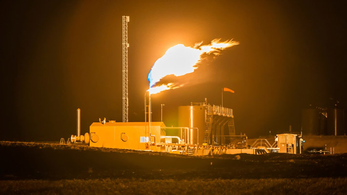 North Dakota - Bakken Shale Fracking and Flaring - An Injustice to Planet Earth