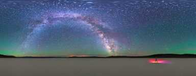 Nevada - E Playa - Dancing Under the Milky Way - 360