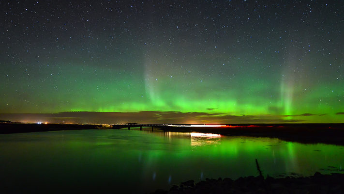 North Dakota - J. Clark Salyer NWR and Aurora Timelapse