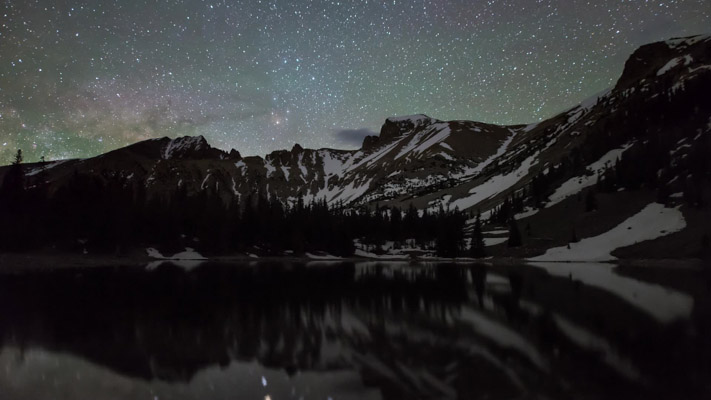Nevada - Great Basin NP - Stella Lake at Night