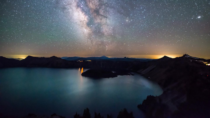 Oregon - Crater Lake - in Summer