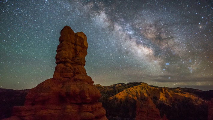 Utah - Red Canyon Nightscape
