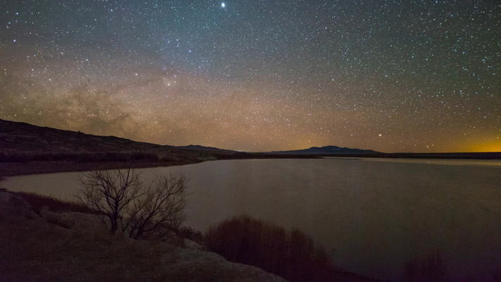 Utah - Pruess Lake Nightscape