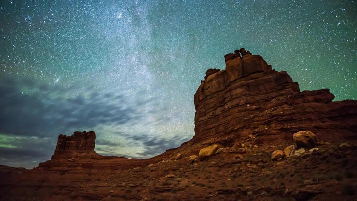 Utah - Valley of the Gods - VOG - and the Northstar