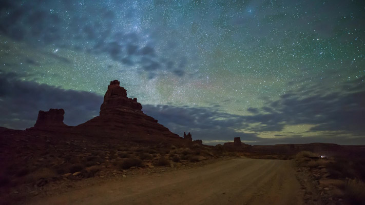 Utah - Valley of the Gods - VOG - Roadview