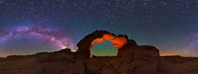 Utah - Arsenic Arch and the Starscape - 360